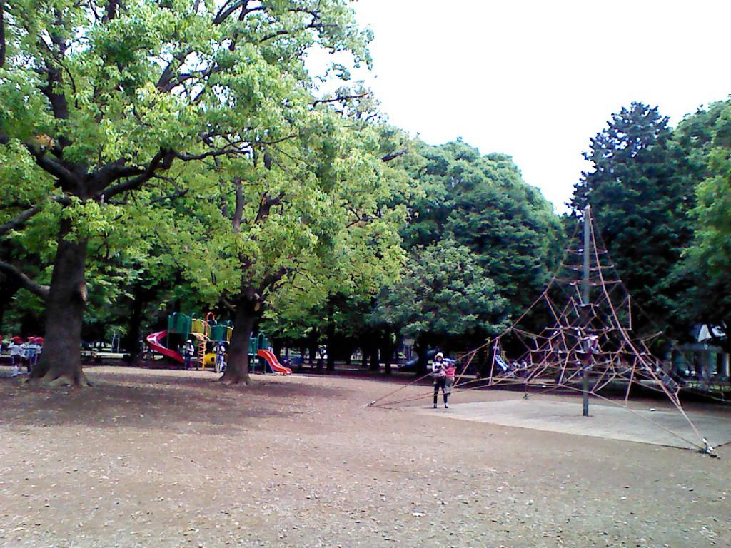光が丘公園バーベキュー広場遊具施設