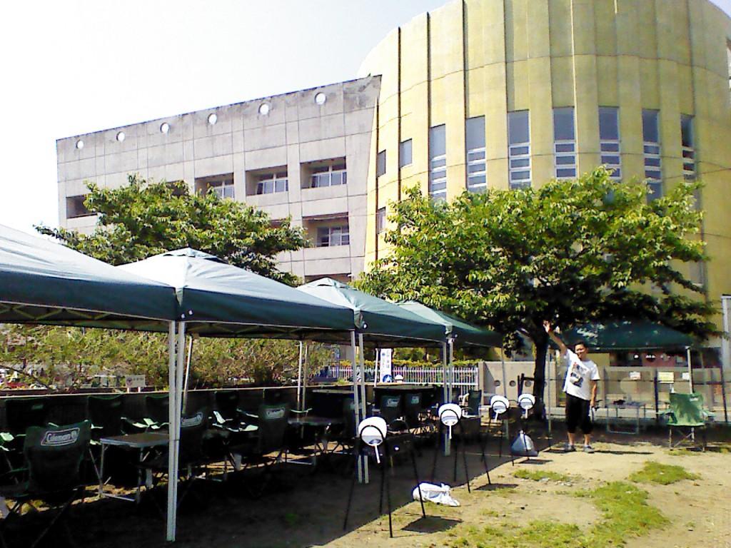 妙典河川敷バーベキュー広場注意点1