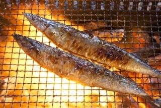 BBQレンタル焼き秋刀魚