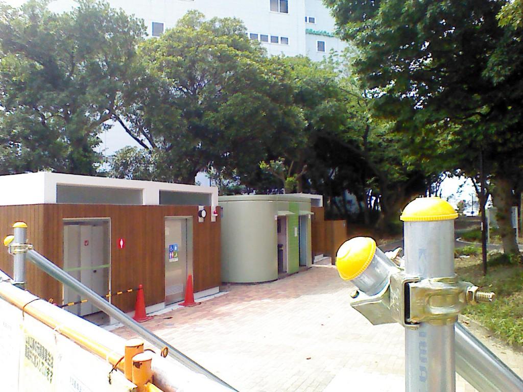 新木場公園バーベキュー場再開園トイレ