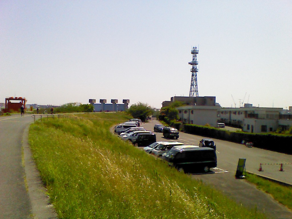 赤羽岩淵BBQ場の駐車場