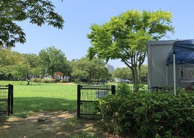 新左近川親水公園デイキャンプBBQ場受付入口